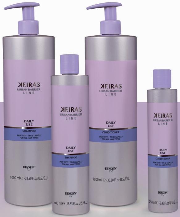 Линия ежедневного ухода за волосами KEIRAS DAILY USE — DIKSON