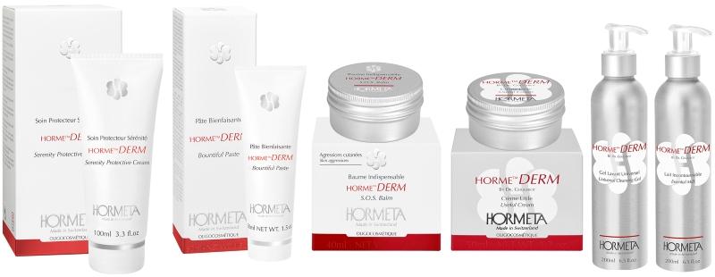 Дерматологическая линия защитных средств для лица и тела HORME DERM — HORMETA