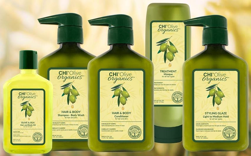 Оливковая линия для тела и волос CHI Olive Organics — CHI
