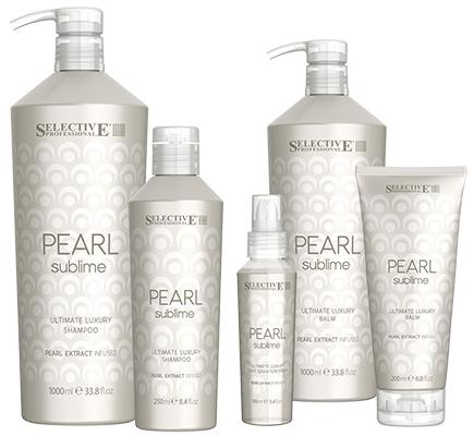 Линия для придания блеска светлым и химически обработанным волосам Pearl Sublime — SELECTIVE PROFESSIONAL