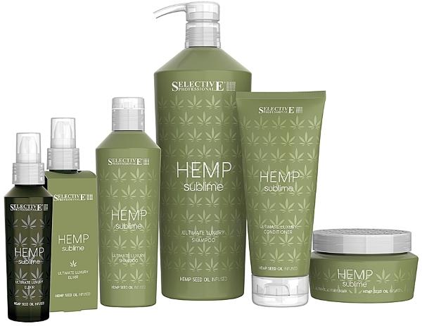 Линия по уходу за сухими и поврежденными волосами Hemp Sublime — SELECTIVE PROFESSIONAL
