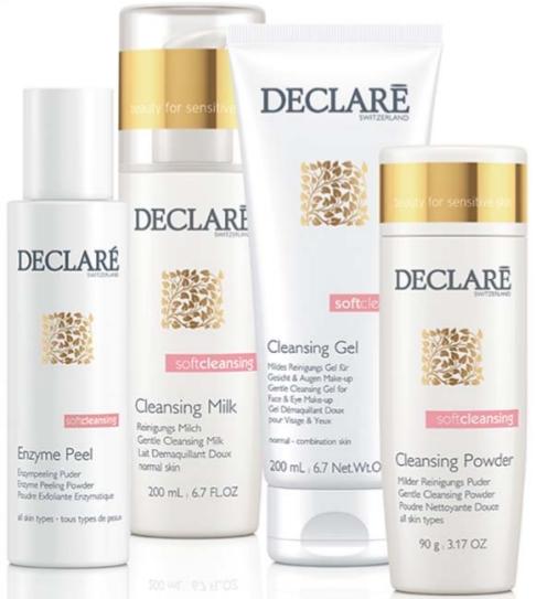 Очищающие средства для чувствительной кожи лица SOFT CLEANSING — DECLARE