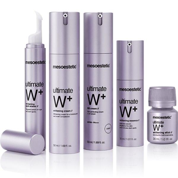 Интенсивное увлажнение и контроль выработки меланина Ultimate W+ — MESOESTETIC