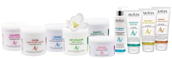 Линия для тела Aravia Laboratories — ARAVIA