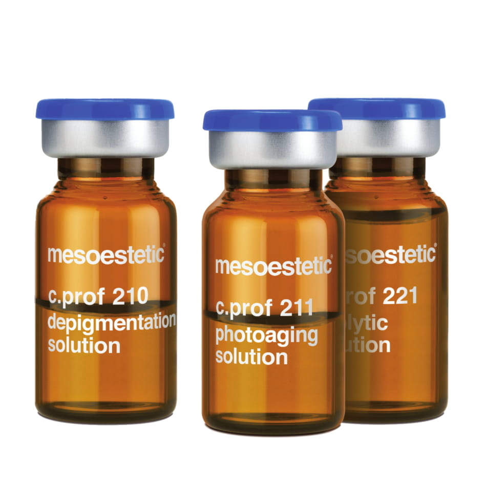 Мезококтейли для лица и тела C.PROF — MESOESTETIC