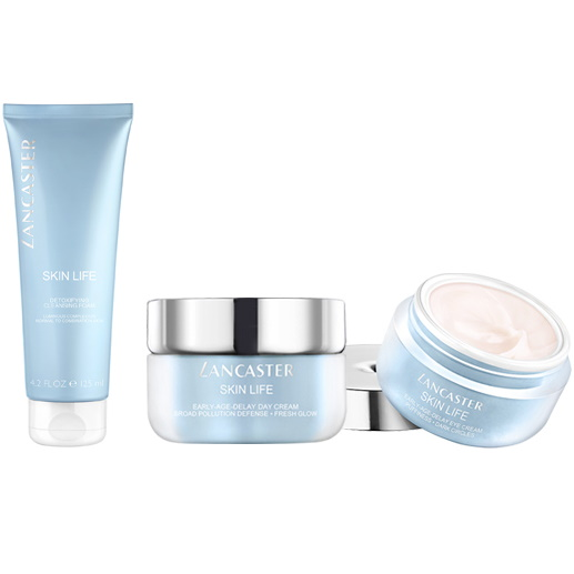 Линия для защиты кожи в городской среде и помещениях Skin Life — LANCASTER