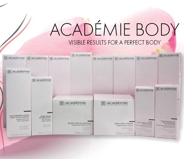 Линия продуктов для тела ACADEMIE BODY — ACADEMIE