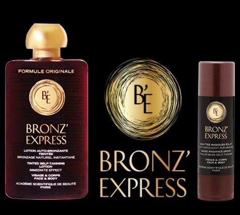 Линия для автозагара BronzExpress — ACADEMIE