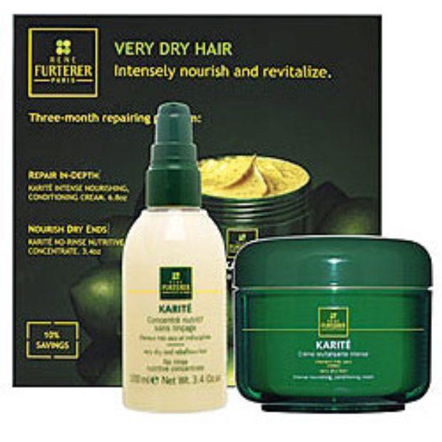 Линия по уходу за очень сухой кожей головы и волосами «Карите» KARITE — RENE FURTERER