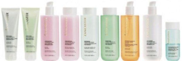 Линия средств для очищения и тонизации кожи лица CLEANSING — LANCASTER
