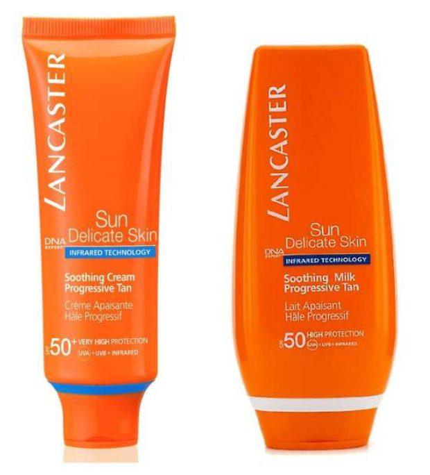 Защита от солнца для чувствительной кожи лица и тела Sun Sensitive — LANCASTER