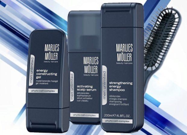 Линия для интенсивного ухода за кожей и волосами мужчин MEN UNLIMITED — MARLIES MOLLER