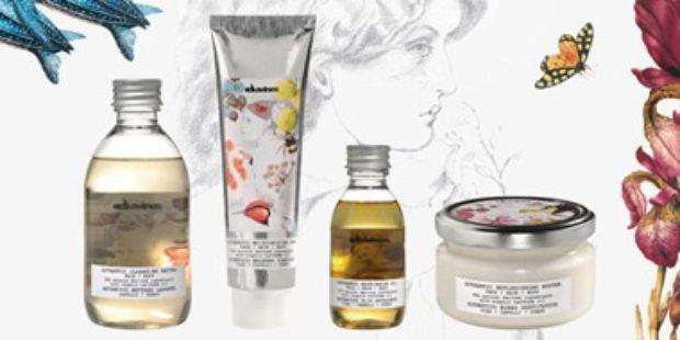 Новая линия для лица тела и волос c натуральными эфирными маслами АУТЕНТИК / AUTHENTIC — DAVINES