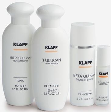 Линия для чувствительной аллергичной кожи BETA GLUCAN — KLAPP