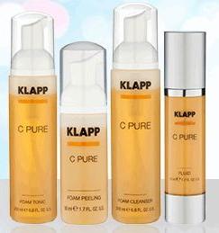 Омолаживающая осветляющая линия с витамином С Энергия Витаминов С PURE — KLAPP