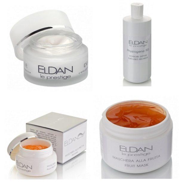 Линия для чувствительной и склонной к куперозу кожей — ELDAN