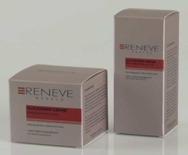 Линия продуктов с АНА-кислотами GLICODERM — RENEVE