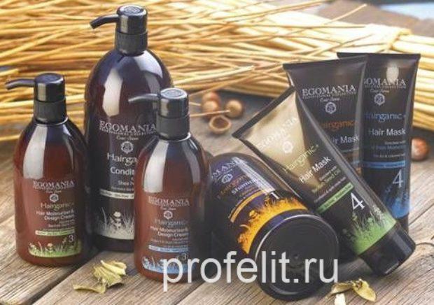 Органическая восстанавливающая линия для всех типов волос с экстрактами растений со всего света HAIRGANIC+ — EGOMANIA