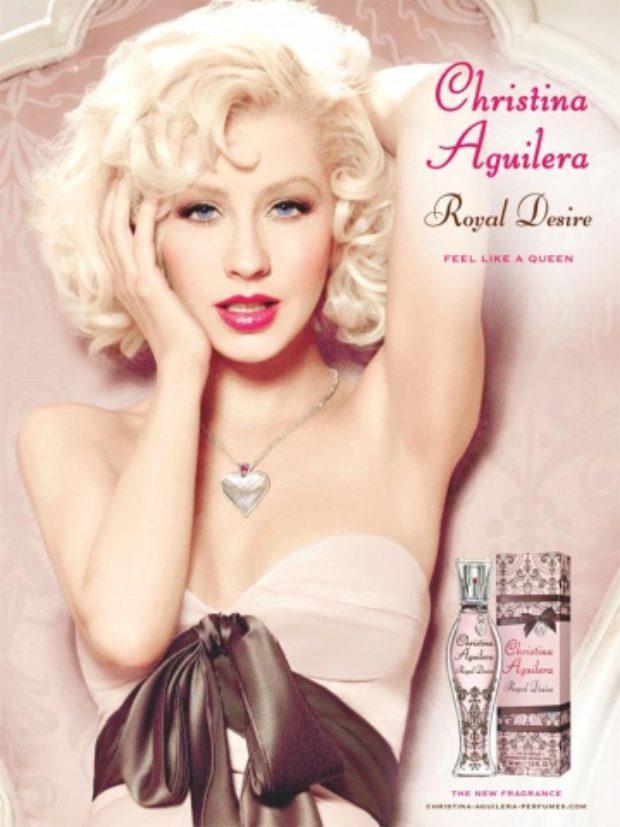 Christina Aguilera Royal Desire — CHRISTINA AGUILERA