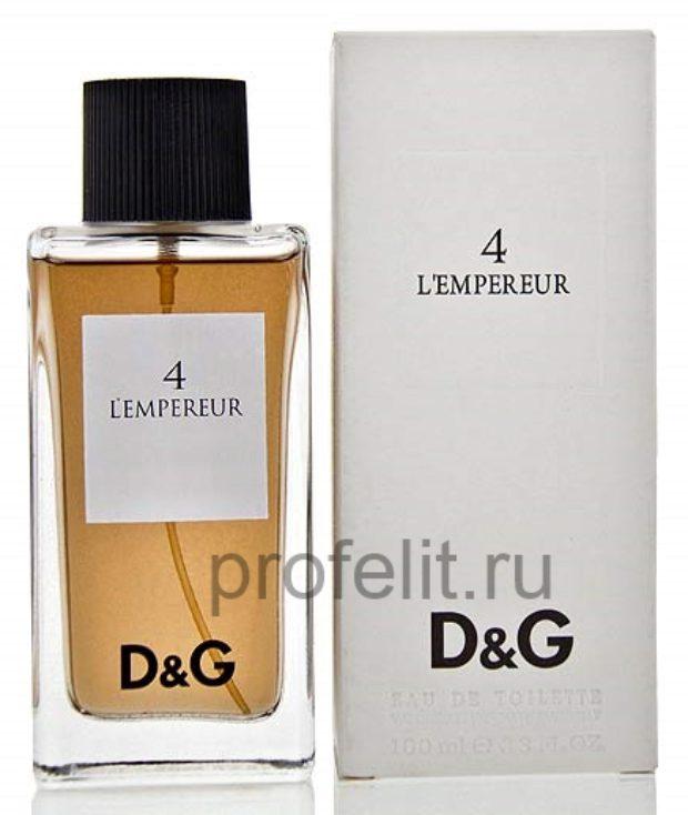 Dolce&Gabbana 4 L'Empereur — DOLCE&GABBANA